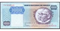 Billete de Angola de 1.000 Kwanzas de 1987 - Numisfila