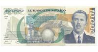 Billete Mexico 10000 Pesos 1988 Lazaro Cardenas - Numisfila