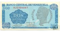 Billete 2 Bolívares Tinoquito 1989 AJ7 - Numisfila
