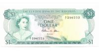 Billete Bahamas 1 Dolar 1974 - Numisfila