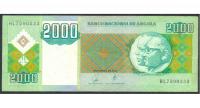 Billete de Angola 2000 Kwanzas de 2003 - Numisfila