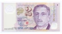 Billete Singapur 2 Dolares 2006-19 - Numisfila