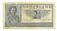 Billete Holanda 2 ½ Gulden de 1945 - Numisfila