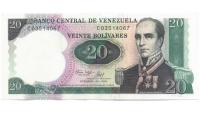 Billete 20 Bolívares 1987 C8 Conmemorativo - Numisfila
