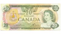 Billete Canada 20 Dolares 1969 Elizabeth II - Numisfila