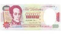 Billete 1000 Bolívares Febrero 1998 L9 - Numisfila