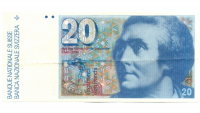 Billete Suiza 20 Francs 1980 Horace Saussure - Numisfila