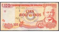 Billete de Bolivia de 100 Bolivianos 1997 - Numisfila