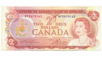 Billete Canada 2 Dólares 1974 Elizabeth II - Numisfila