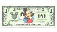 Billete Disney 1 Dolar 2003 Mickey Mouse D - Numisfila