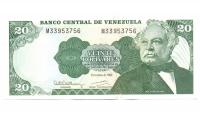 Billete 20 Bolívares de 1992 M8 - Numisfila