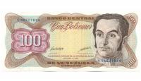 Billete 100 Bolívares Octubre 1998 K8 - Numisfila