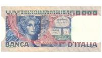Billete Italia 50.000 Lire 1977 - Numisfila