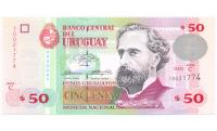 Billete de Uruguay 50 Pesos Uruguayos 2003 - Numisfila