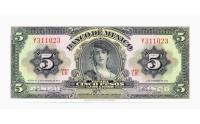 Billete Mexico 5 Pesos 1961 - Numisfila