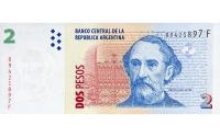 Billete Argentina 2 Pesos de 2002 - Numisfila