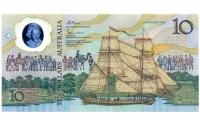 Billete Plástico Australia 10 Dólares 1988 Emisión conmemorativa - Numisfila