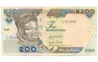 Billete de Nigeria 200 Naira de 2006 - Numisfila