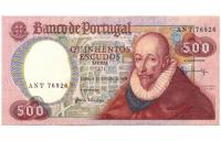 Billete Portugal 500 Escudos 1979 - Numisfila