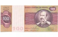 Billete Brasil 100 Cruzeiros 1974 - Numisfila