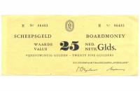Ficha de 25 Guleden Ferry Holandés Stoomvaart  - Numisfila