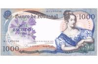 Billete de Portugal 1.000 Escudos Oro de 1967 - Numisfila