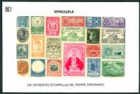 Venezuela 1er Centenario 100 Estampillas usadas  - Numisfila