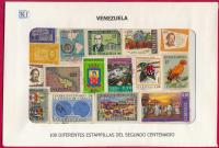 Venezuela 2do Centenario 100 Estampillas usadas - Numisfila