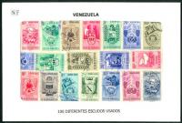 Venezuela Escudos 100 Estampillas usadas  - Numisfila