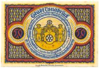 Notgeld Alemania Edo Osnabrück 50 Pfennig 1921 - Numisfila