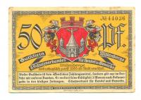 Notgeld Alemania Wittenberge 50 Pfennig 1921 - Numisfila