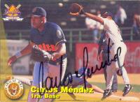 Barajita Autografiada Carlos Méndez Line Up 1995 - Numisfila