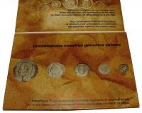 Set de presentación UNIBANCA con 5 monedas de plata - Numisfila
