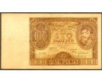 Billete de Polonia 100 Zlotych de 1932 - Numisfila