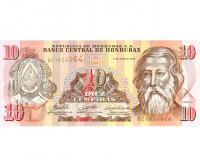Billete Honduras 10 Lempiras 2006 - Numisfila