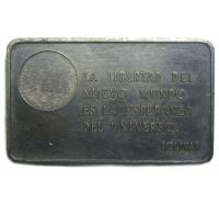 Lingote Plata Pura Bolívar Pensamientos ITALCAMBIO - Numisfila