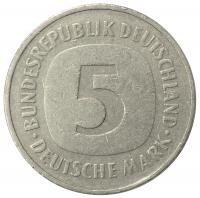 Moneda Alemania Federal 5 Marcos 1975-2001 - Numisfila