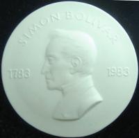 Medalla Libertador 1983 Congreso Bolivariano - Numisfila
