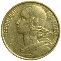 Moneda Francia 10 Centimos 1962-1986 - Numisfila