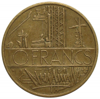 Moneda Francia 10 Francs 1975-1984 - Numisfila