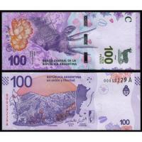 Billete Argentina 100 Pesos (2018) Taruca - Numisfila