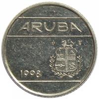 Moneda Aruba 10 Centavos 1986-2013 - Numisfila