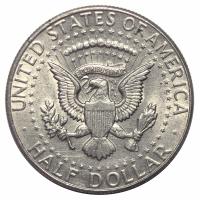 Moneda Estados Unidos 1/2 Dolar 1964 Kennedy - Numisfila