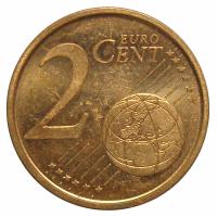 Moneda España 2 Centavos de Euro 2000-2005 - Numisfila