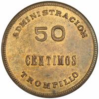 Ficha Administracion Trompillo 50 Céntimos - Numisfila