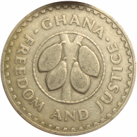 Moneda Ghana 20 Pesewas 1967 - Numisfila