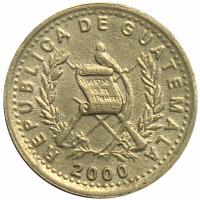 Moneda Guatemala 5 Centavos 2000 - Numisfila