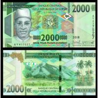 Billete Guinea 2000 Francs 2018 - Numisfila