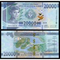 Billete Guinea 20.000 Francs 2018 - Numisfila