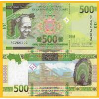 Billete Guinea 500 Francs 2019 - Numisfila